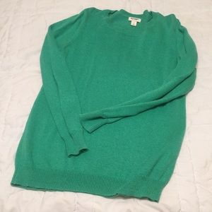 Old navy turquoise sweater